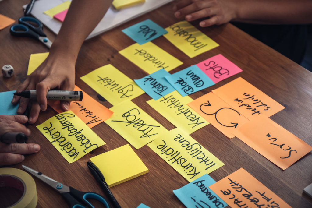 Arbeit am digitalen Mindset