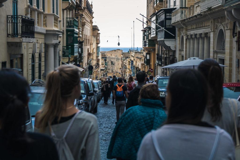 Die Hauptstadt Valetta anschauen