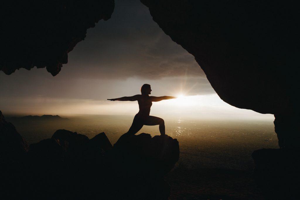 Mit Yoga sportlich in den Tag starten.