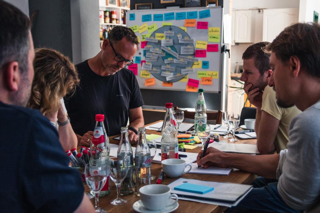 Mit dem Innovation-Bootcamp haben wir unseren Kunden bewegt und zum Denken angeregt.