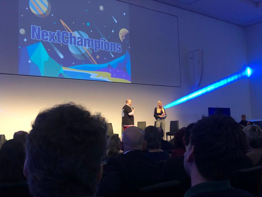 Eröffnung des Events durch Dr. Winfried Felser und Celine Flores Willers