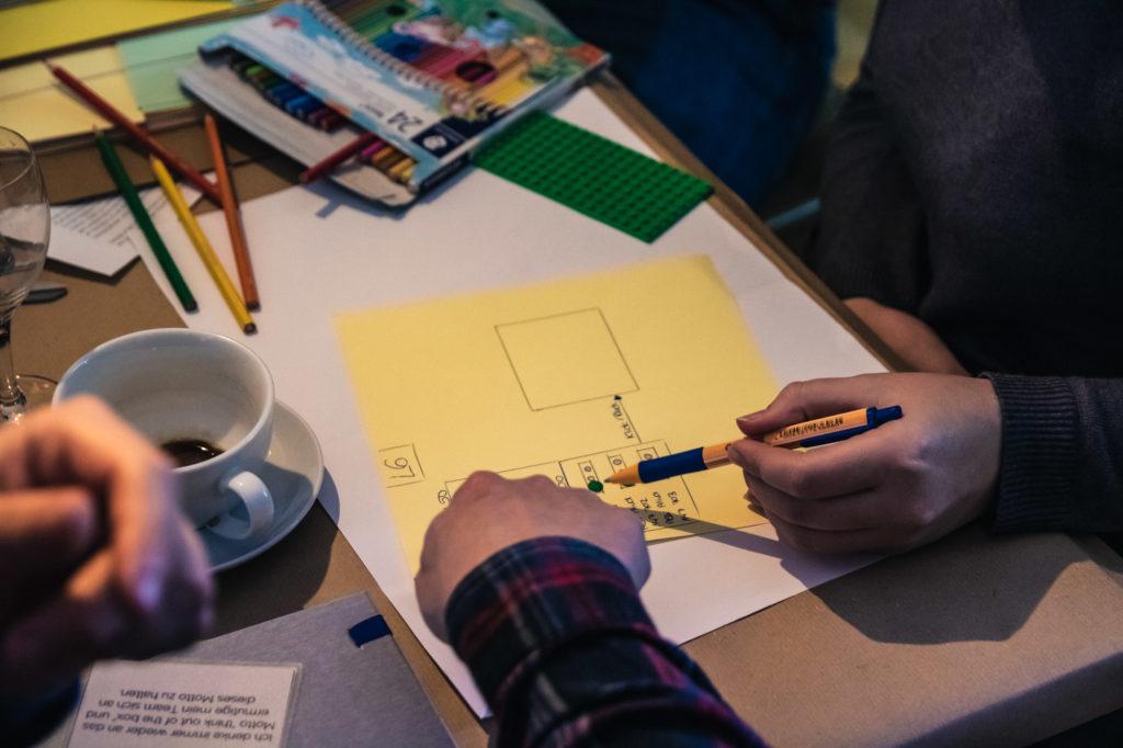 An neuen Ideen und Innovationen könnt ihr bestens in unseren Workshops tüfteln.