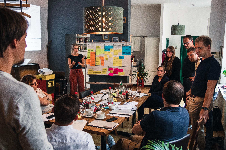 Digitalstrategie für Dr. Pfleger Workshop