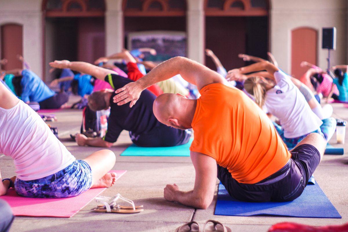 Yoga-Kurs für Mitarbeiter