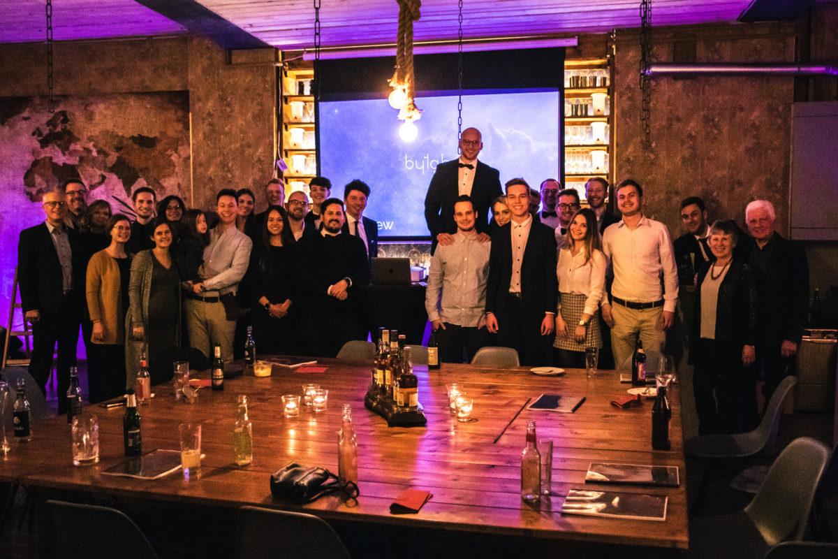 Die Digital Crew auf der GmbH Party